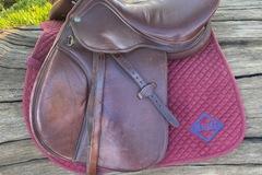 "Selling: Henri Di Rivel Close Contact Saddle 16.5"""