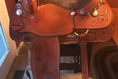 "Selling: 16"" Billy Cook Roper Saddle 16"""