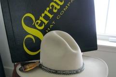 Selling: Serratelli 4X Silver Belly Cattleman Western Hat Size 7