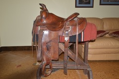 Selling: Custom made Wm R. Errington ranch saddle 15""