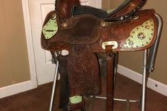 "Selling: Barrel Saddle 13.5"""