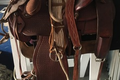 """Selling: Dailey 222 Saddlery Western Saddle 16"""""""