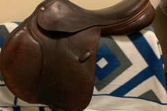 "Selling: Pessoa Legacy XL Jump Saddle 17"""
