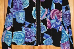 Selling: Diane Olsen Show Shirt  crystals Rail Horsemanship Sz 9/10