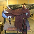 Selling: Showman Show Saddle 16.5""