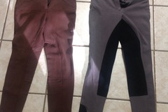 Selling: Pull on breeches/pants $ 20 for BOTH