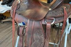 """Selling: Rocking R Wade Saddle 16"""""""