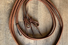 Selling: Hot oil 8' Leather weighted Reins