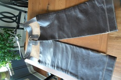 Selling: Pair of Dark Heavy Leather Chaps