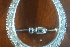 Selling: Stunning Diamond Horseshoe Pin