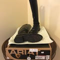 Selling: Ariat dressage 8.5 Black, medium, slim worn 5 times, zipper